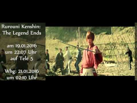 Rurouni Kenshin: The Legend Ends am 19.01.2016 auf Tele 5