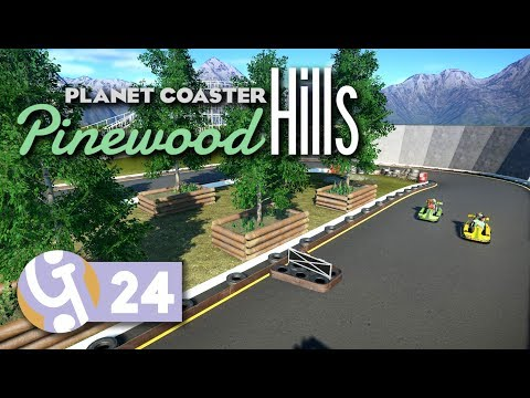 🌲 Go Karts | Pinewood Hills | Let's Play Planet Coaster #24