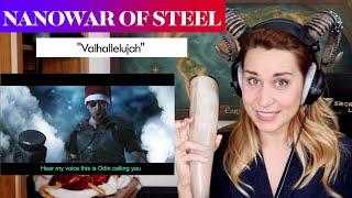 "Nanowar of Steel w/ Angus McFife ""Valhallelujah"" REACTION & ANALYSIS by Vocal Coach/Opera Singer"