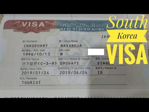 SOUTH KOREA VISA Process, Cost, Documents Required & JEJU ISLAND VISA