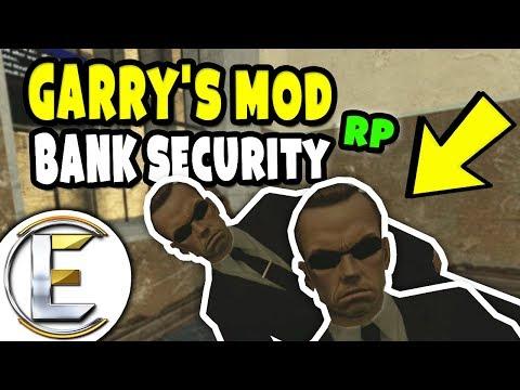 GMOD : BANK SECURITY RP | Garry's Mod DarkRP - Admin Wants A Girlfriend