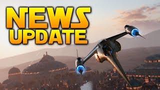 NEWS UPDATE: First Battlepoint Event Live (Vehicles), Developer Videos & More - Battlefront 2