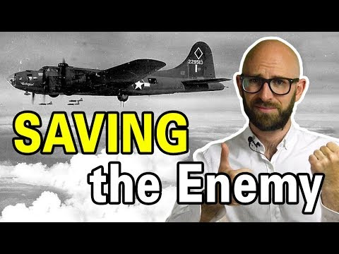 That Time a Luftwaffe Pilot Risked His Own Life to Save an American Bomber