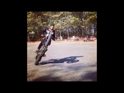 Bike Stunts by Arshdeep Singh Mahilpur (Added By Palwinder Singh)
