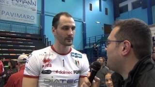 13-03-2016: #SuperLega - Matey Kaziyski dopo la sconfitta a Molfetta