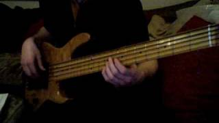 Smooth - Carlos Santana ft. Rob Thomas. Solo Bass Cover