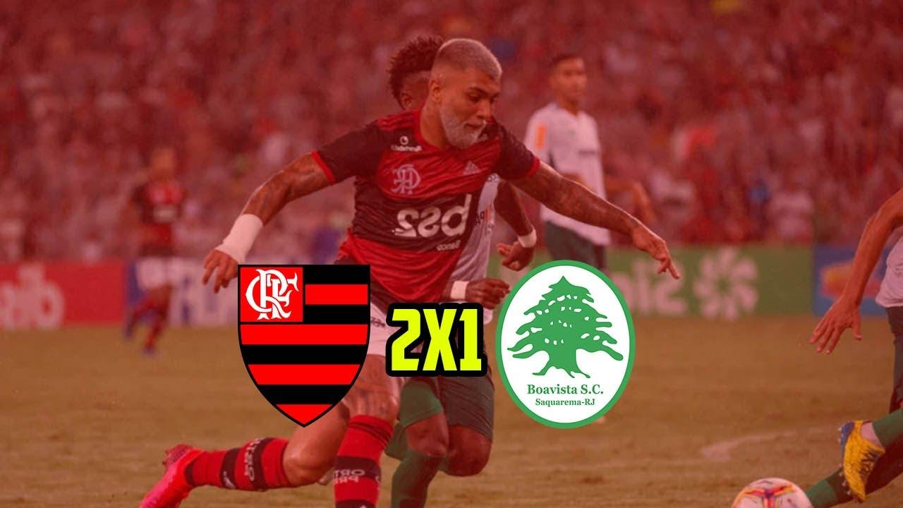 FLAMENGO 2 x 1 BOAVISTA - Gols - Final da Taça Guanabara (22/02/2020)