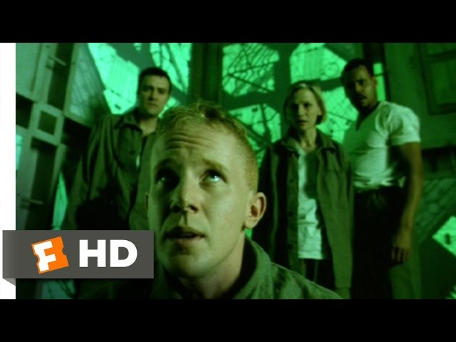 Cube (5/12) Movie CLIP - This Room Is Green (1997) HD