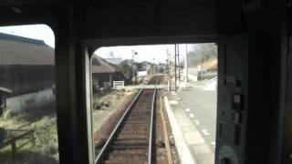 【前面展望☆初めて乗った琴電】長尾線公文明駅~学園通り駅