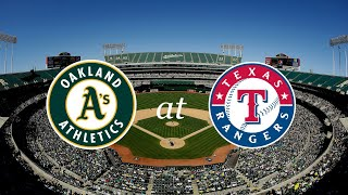 A's Franchise - Game 24 - OAK@TEX - MLB The Show 18