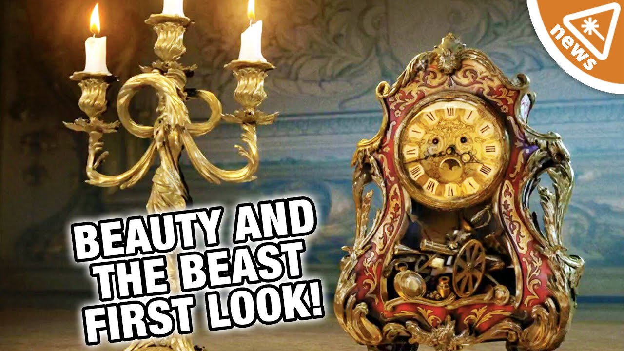 First Look At Beauty And The Beast Live Action Characters Nerdist News W Jessica Chobot
