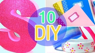 5 Minute Crafts To Do When You're Bored! 10 Quick And Easy Diy Ideas! Amazing Diys & Craft Hacks!