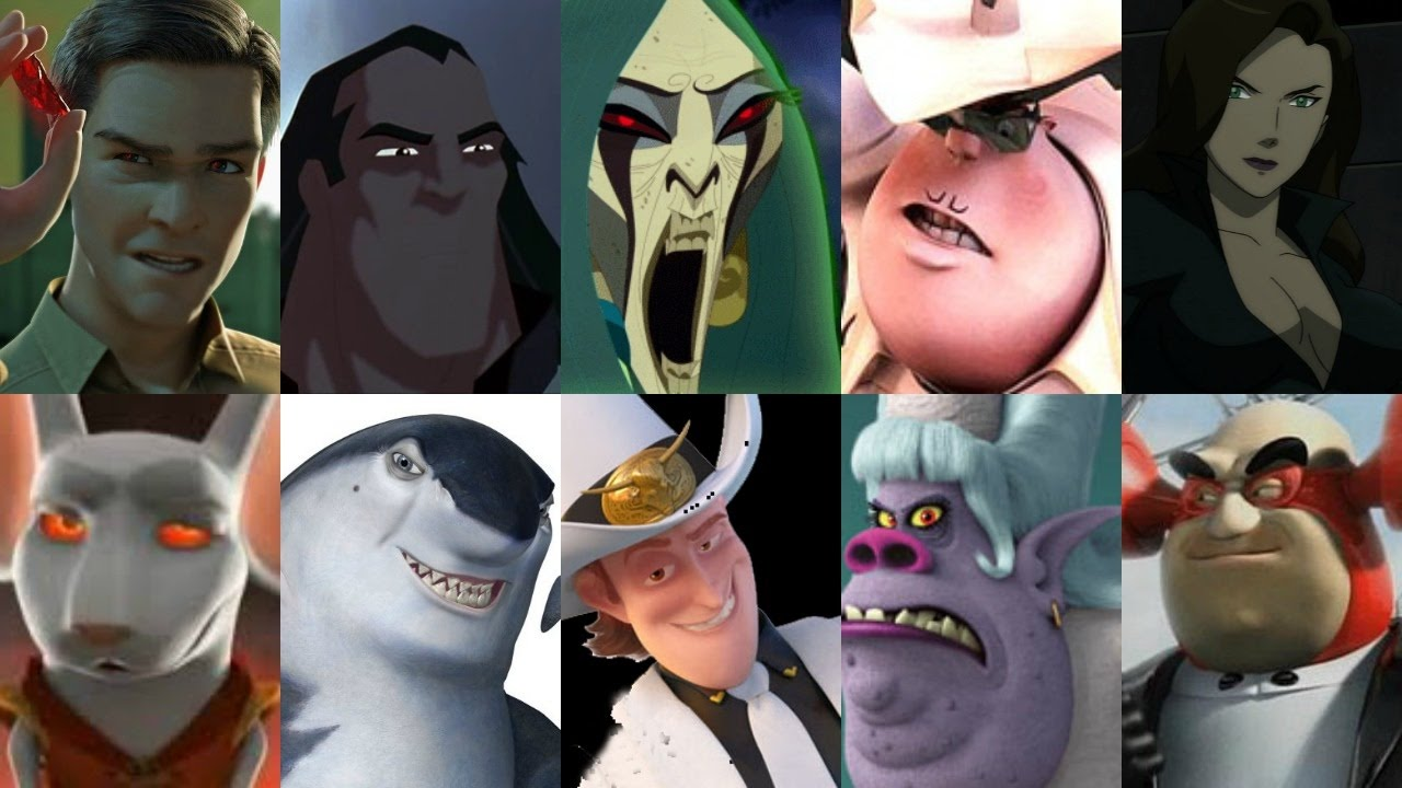 Defeats of my Favorite Animated Non Disney Movie Villains Part XVIII  (Re-Upload)