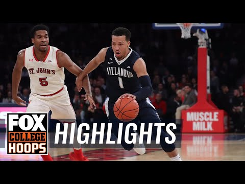Villanova vs St. John's | Highlights | FOX COLLEGE HOOPS