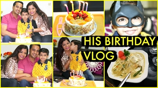 Husband's Birthday Vlog Family Time | SuperPrincessjo
