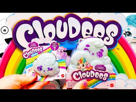 Большое и маленькое облачко с сюрпризом Cloudees