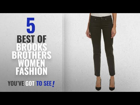 Brooks Brothers Women Fashion [2018 Best Sellers]: Brooks Brothers Womens Natalie Fit Pant, 14,