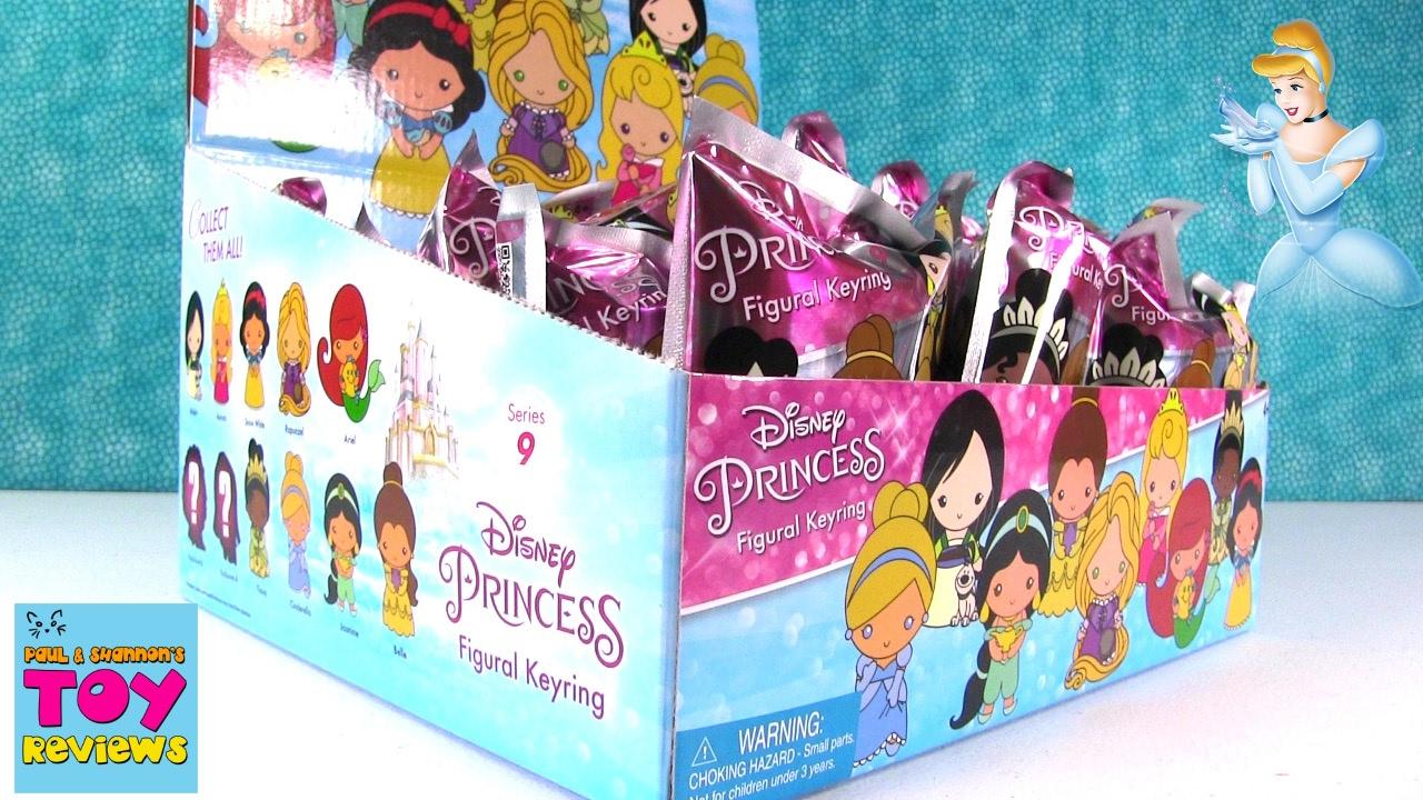 Disney Princess Figural Keyrings Series 9 Blind Bags