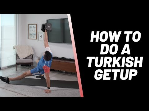 How To Do A Turkish Getup TGU Variations, Modifications & Regressions