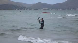 kitesurfen mallorca kiten unterricht kite spot Club Pollentia edmkpollensa kitekurs