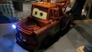 Disney Cars Custom Backwards Driving Mater