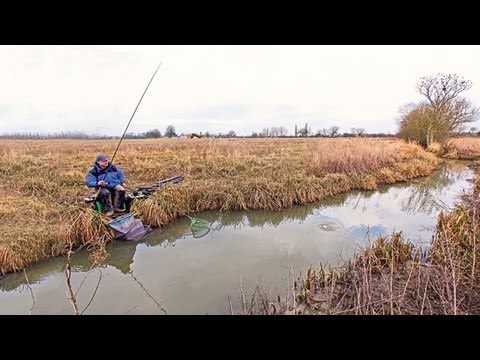 Angling Times Where to Fish series - Nigel Truman on Polser Brook, Notts