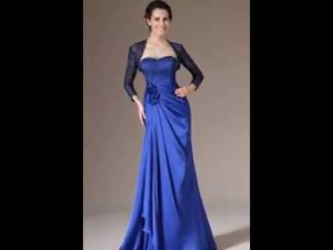 8cf9a19a506e8  اشيك فساتين سهرة طويل ازرق جديد 2017 - Most Stylish Long Evening Dresses  Blue New - YouTube