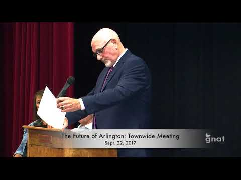 The Future of Arlington - Special Meeting