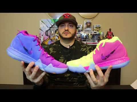 """NIKE KYRIE 4""""CONFETTI"""" REVIEW & OTHER P/U's"""