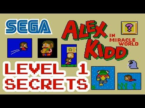Alex Kidd Level 1 Secrets
