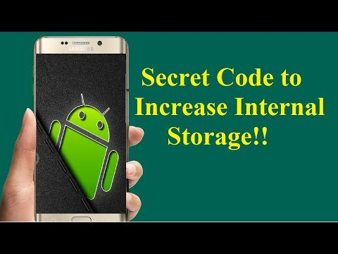 Android Secret Code to Increase InternalStorage!!