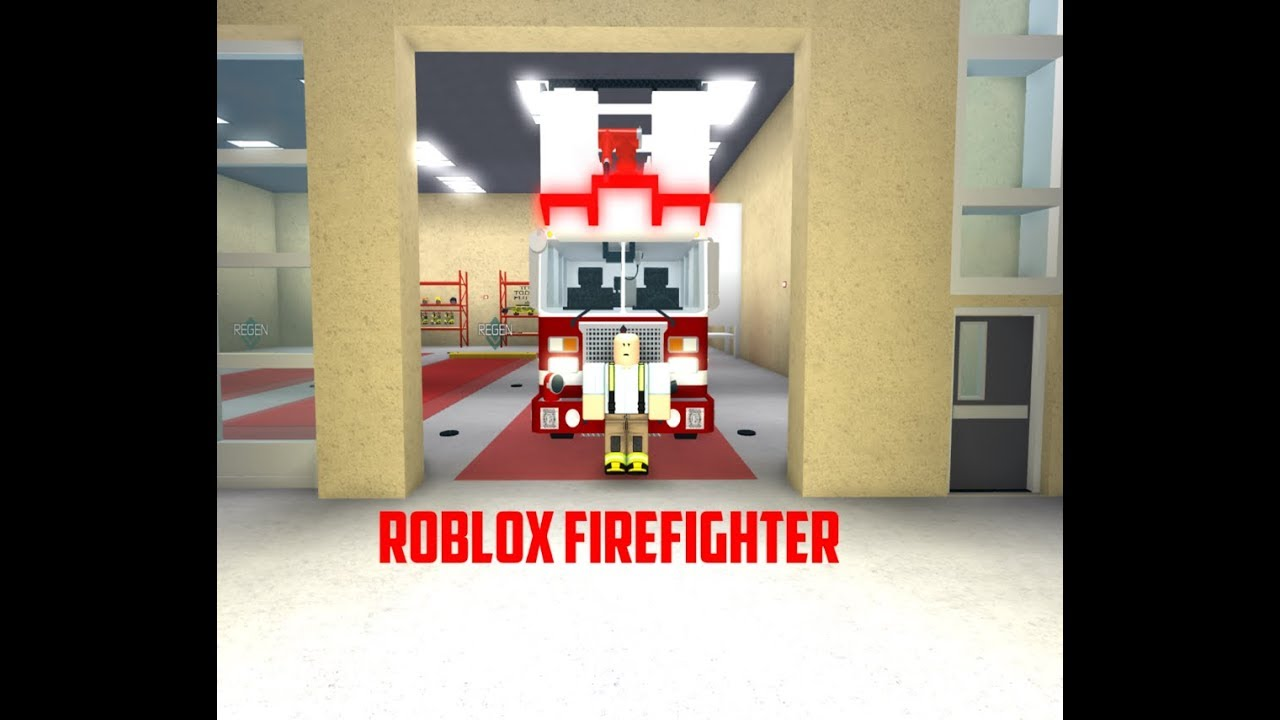 Being A Firefighter In Roblox Becoming A Firefighter In Roblox Youtube
