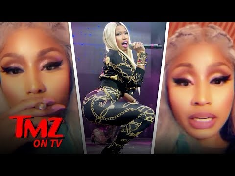 DJ Slab 1 - Nicki Minaj Forced to Cancel Concert, French Fans Savagely Chant 'Cardi B'