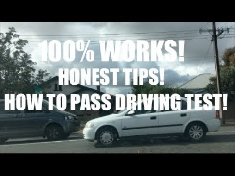 100% HELPFUL, HONEST Tips To Pass Driving Test (In Australia)