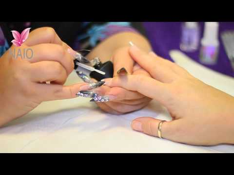 Apply Gel Top Coat to an Acrylic Nail Tutorial Video by Naio Nails thumbnail