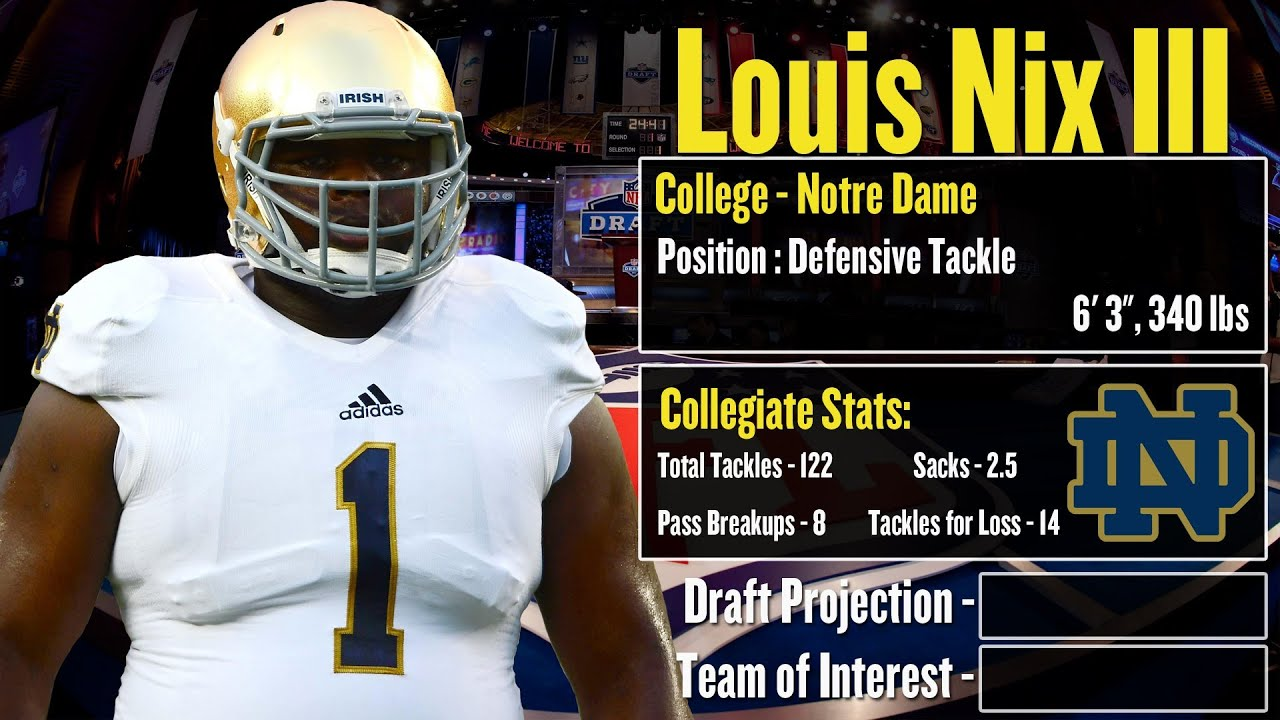 2014 nfl draft profile louis nix iii strengths and weaknesses 2014 nfl draft profile louis nix iii strengths and weaknesses projection