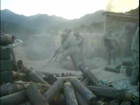 Afghanistan Raw Combat Footage Helmand Province Mortars & Small Arms