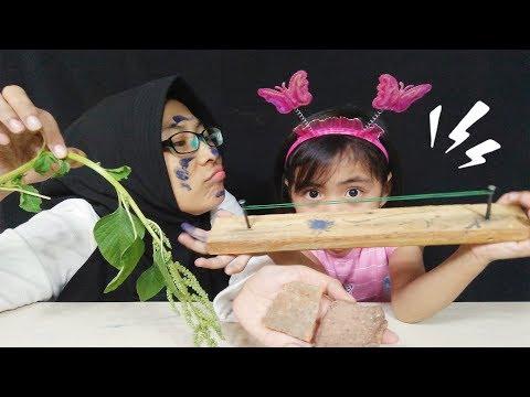 Challenge Adu Ulat Bulu Mainan Anak Zaman Dulu, Permainan Sederhana tetapi Seru dan Menyenangkan