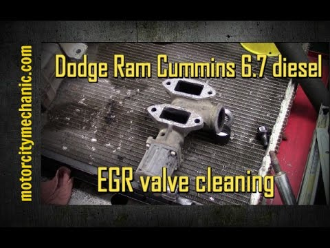 2015 f650 wiring diagram shield volcano labeled dodge cummins 6 7 egr cleaning youtube