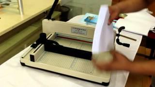 858  A4  good qality manual paper cutter paper cutting machine paper trimmer