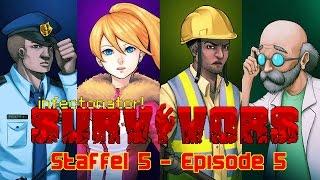 Infectonator: Survivors | PC | Staffel 5 | #05 Ein Zombie schlief im Zugabteil