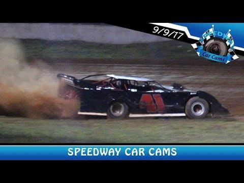 #41 Jimmy Atchley - Sportsman - 9-9-17 Fort Payne Motor Speedway - In Car Camera