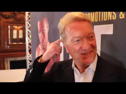 FRANK WARREN ON SIGNING JOYCE, MILLER FAILED TEST, DUBOIS, YARDE-KOVALEV, JOSHUA, KHAN SHOULD RETIRE