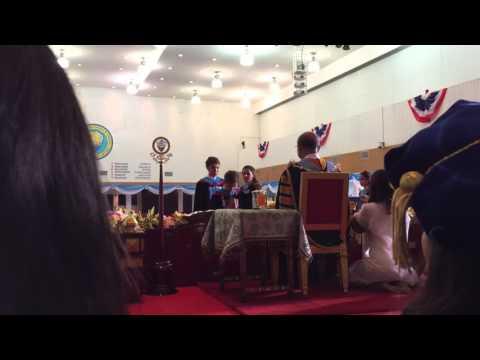 University of the Thai Chamber of Commerce Graduation Ceremony Feb 26, 2016