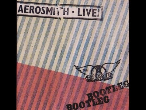bootleg cover live Aerosmith album