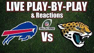 Bills vs Jaguars | Live Play-By-Play & Reactions
