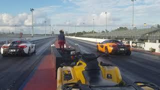 Dodge Demon - Ferrari - Lamborghini - Tesla - Audi RS7 - BMW M5 / M3 - McLaren at the Track!