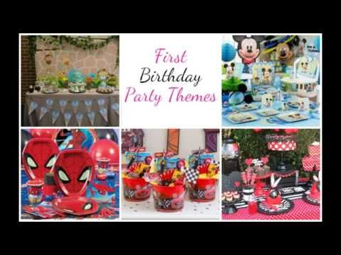 Baby Boy 1st Birthday Party Ideas Outfits First Celebrations Themes Decoration You