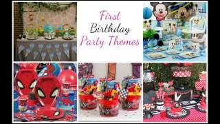 Baby Boy 1st Birthday Party Ideas & outfits | First Birthday Party Celebrations, Themes, Decoration