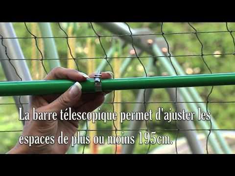 Clôture de protection antifugue pour votre jardin - YouTube